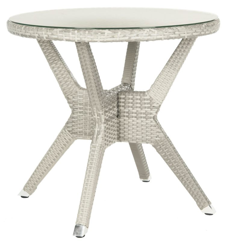 Safavieh Langer Round End Table, Grey