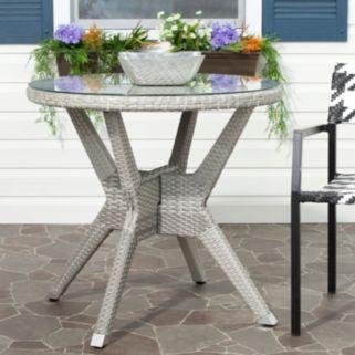 Safavieh Langer Indoor / Outdoor Round End Table
