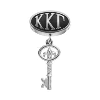 LogoArt Kappa Kappa Gamma Sterling Silver Sorority Symbol Charm