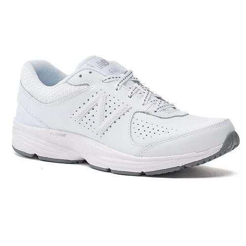 White New Balance Ladies Walking Shoe 411 Refined