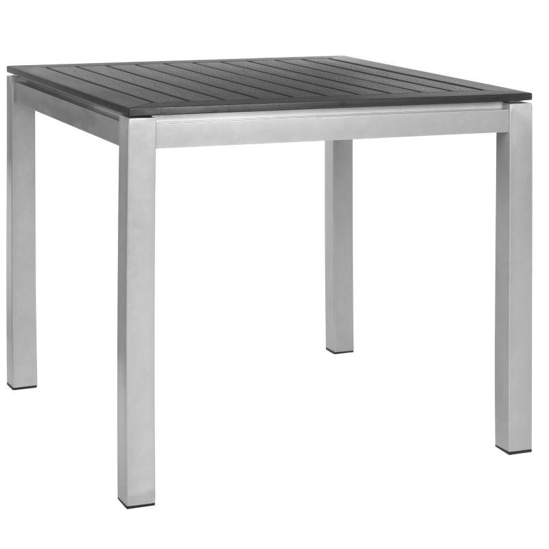 Safavieh Onika Square End Table, Black