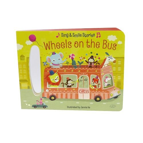 Wheels On The Bus: Sing & Smile Stories Book
