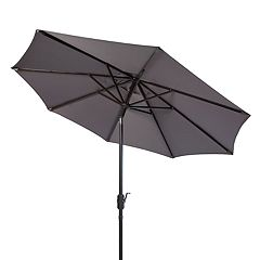 Safavieh Ortega 9-ft. Crank Umbrella