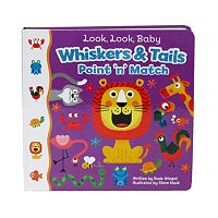 Look Look Baby Whiskers & Tails Point 'N' Match Book by Cottage Door Press
