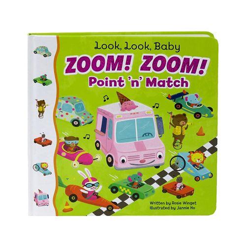 Look Look Baby Zoom! Zoom! Point 'N' Match Book by Cottage Door Press