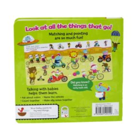 Look Look Baby Zoom! Zoom! Point 'N' Match Book by Cottage Door Press