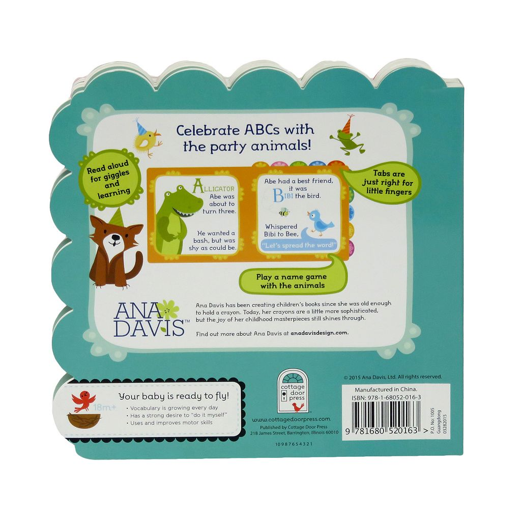 ABC Animal Party Book by Cottage Door Press