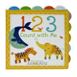 1 2 3 Count With Me Book by Cottage Door Press