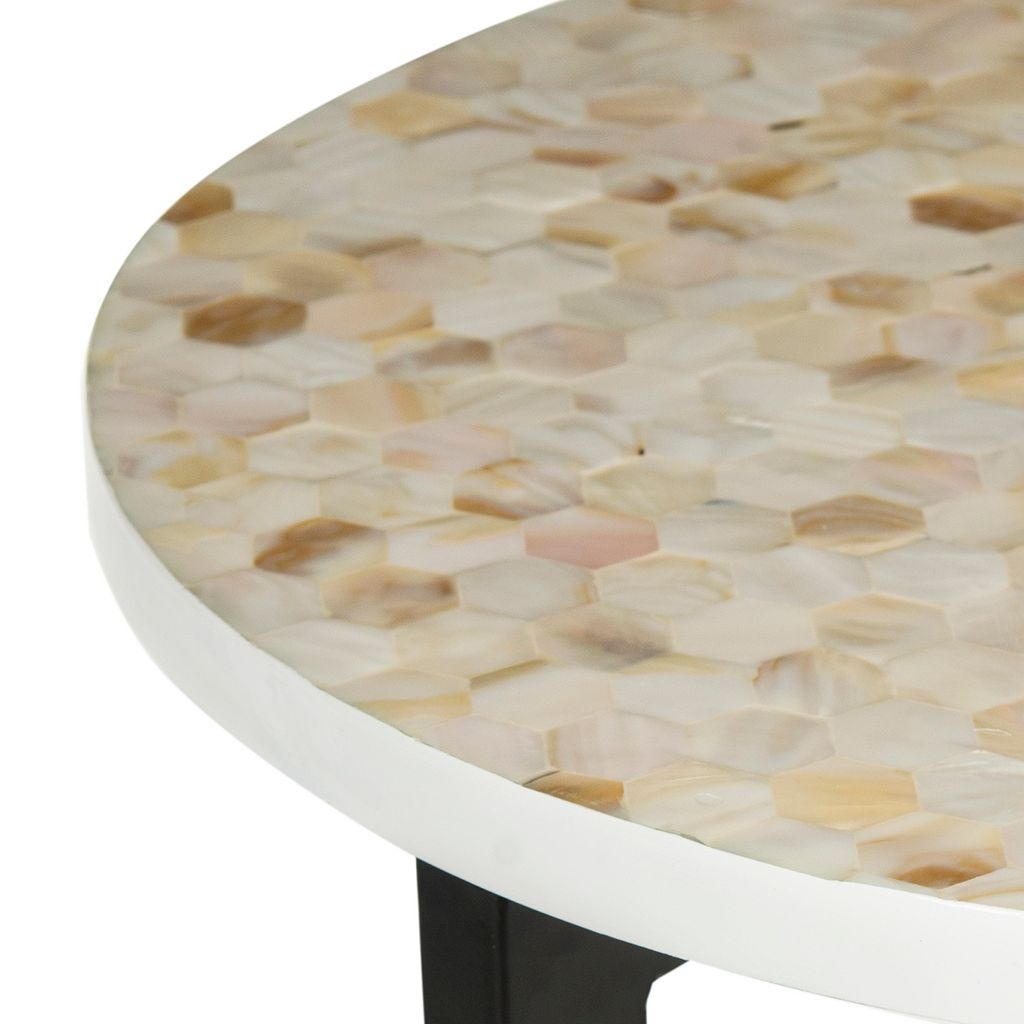 Safavieh Zaira Shell End Table