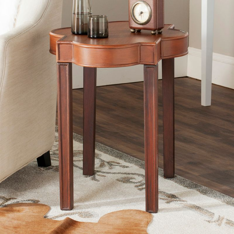Safavieh Mizel End Table, Brown