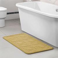VCNY Byzantine Memory Foam Bath Rug - 20'' x 32''