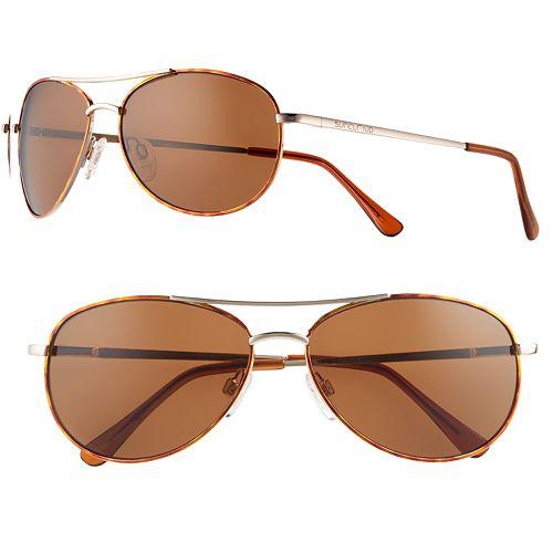 e1687e47464 SUNCLOUD Patrol Polarized Women s Aviator Sunglasses