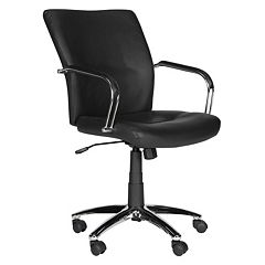 Safavieh Lysette Black Desk Chair