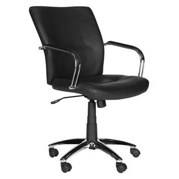 Safavieh Lysette Black Desk Chair