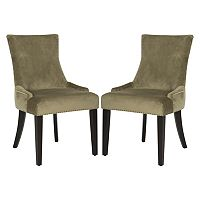 Safavieh Lester 2-piece Dining Chair Set