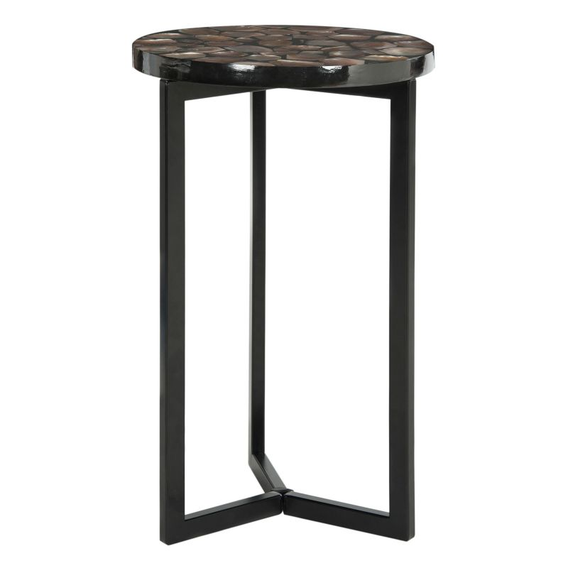 Safavieh Zaira End Table, Brown