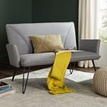 Safavieh Gray Johannes Loveseat