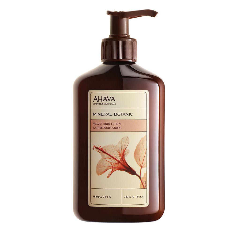 AHAVA Mineral Botanic Hibiscus & Fig Velvet Body Lotion