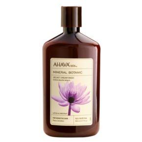 AHAVA Mineral Botanic Lotus Flower & Chestnut Cream Wash