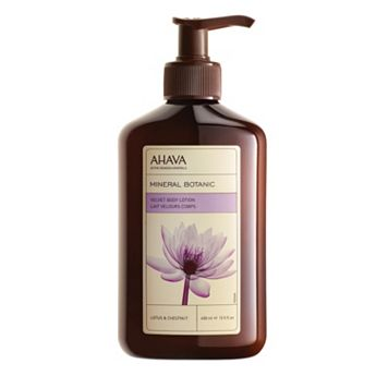 AHAVA Mineral Botanic Lotus & Chestnut Body Lotion