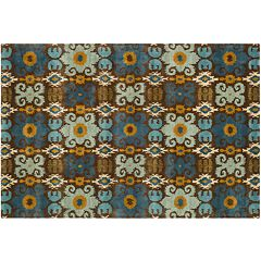 Safavieh Soho Checkerboard Floral Wool Rug