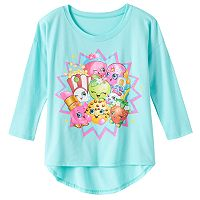Shopkins Group Burst High-Low Tee - Girls 7-16