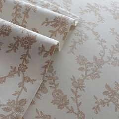 Laura Ashley Lifestyles Victoria 300-Thread Count Sateen Sheets