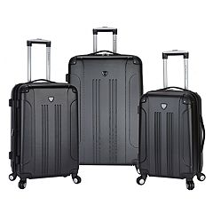Travelers Club Chicago 3 pc Expandable Hardside Luggage Set