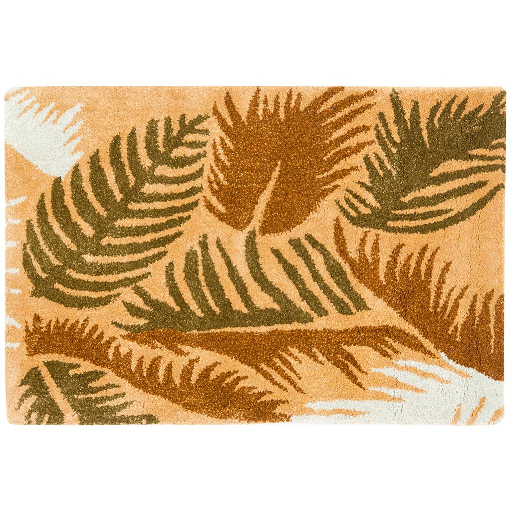 Safavieh Soho Tropical Leaves Wool Rug