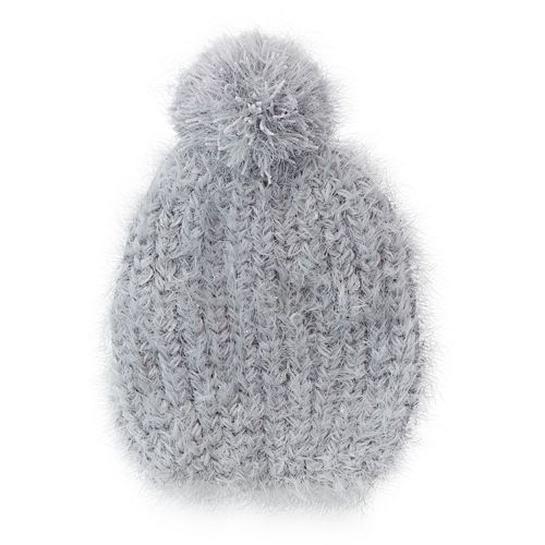 SONOMA Goods for Life™ Eyelash Pom Beanie - Women