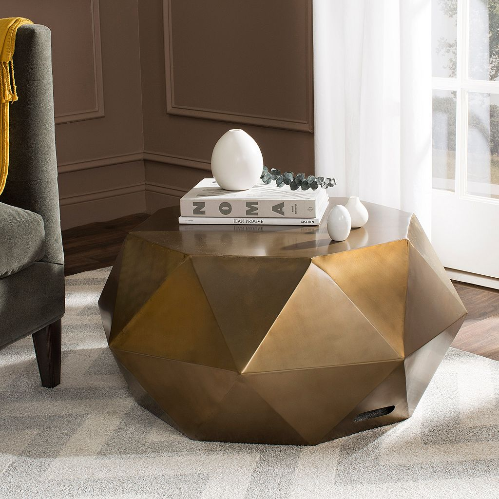 Safavieh Astrid Faceted Coffee Table