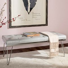 Safavieh Chrome Marcella Bench