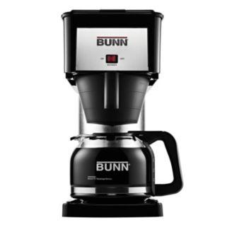 BUNN® Velocity Brew® Silver Finish 10-Cup Coffee Brewer