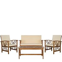 Safavieh Fontana 4-piece Outdoor Set