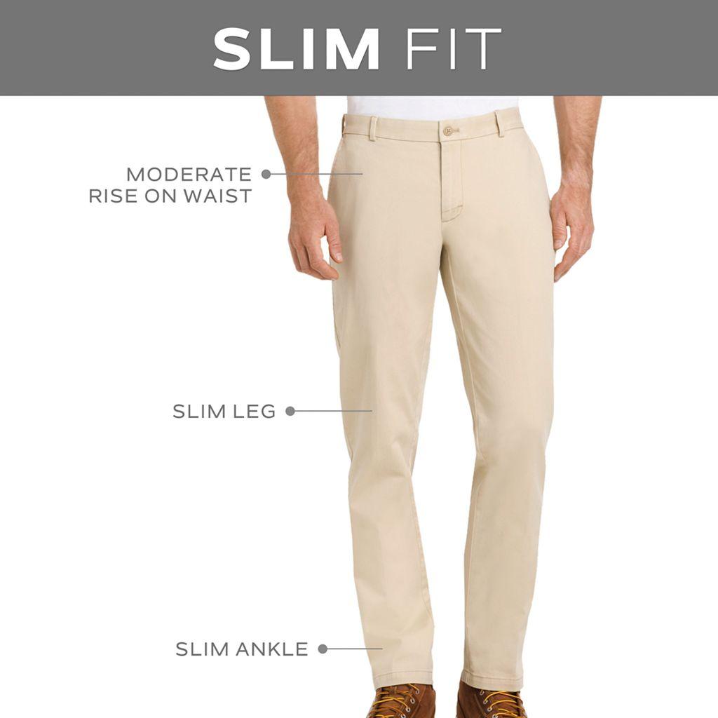 Men's Van Heusen Traveler Flat-Front Dress Pants