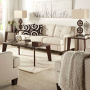 HomeVance 3 pc Allegra Occasional Table Set