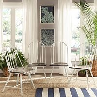 HomeVance 4-piece Grayson Windsor Dining Chair