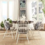 HomeVance 5 pc Grayson Windsor Dining Set