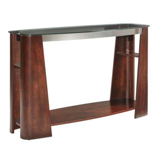 HomeVance Ellington Glass Sofa Table