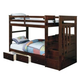 Venetian Worldwide Mission Viejo Twin Bunkbeds and Storage Drawers