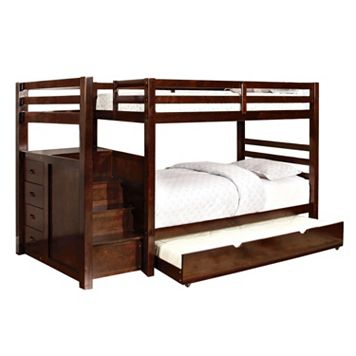 Venetian Worldwide Old Frontier Twin Bunk Beds and Trundle