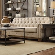 HomeVance Townsend Button Tufted Sofa
