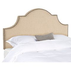 Safavieh Hallmar Curved Headboard