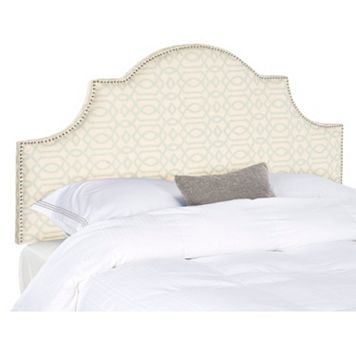 Safavieh Hallmar Arched Geometric Headboard