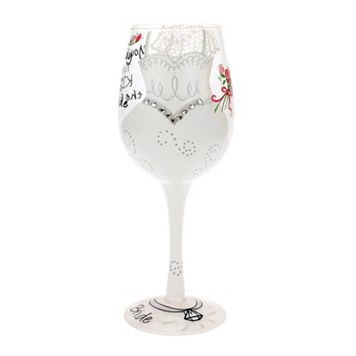 Top Shelf 15-oz. Bride Wine Glass