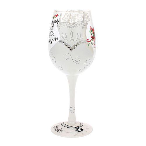 Top Shelf 15-oz. Bride Wine Glass