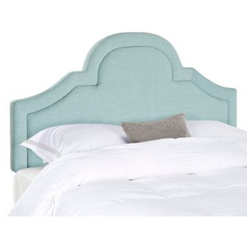 Safavieh Kerstin Curved Linen Blend Headboard