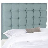 Safavieh Lamar Taupe Tufted Headboard