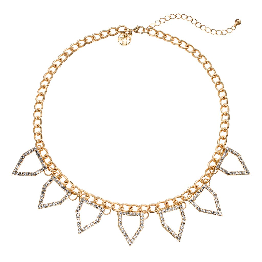 GS by gemma simone Parisian Treasures Collection Spike Necklace