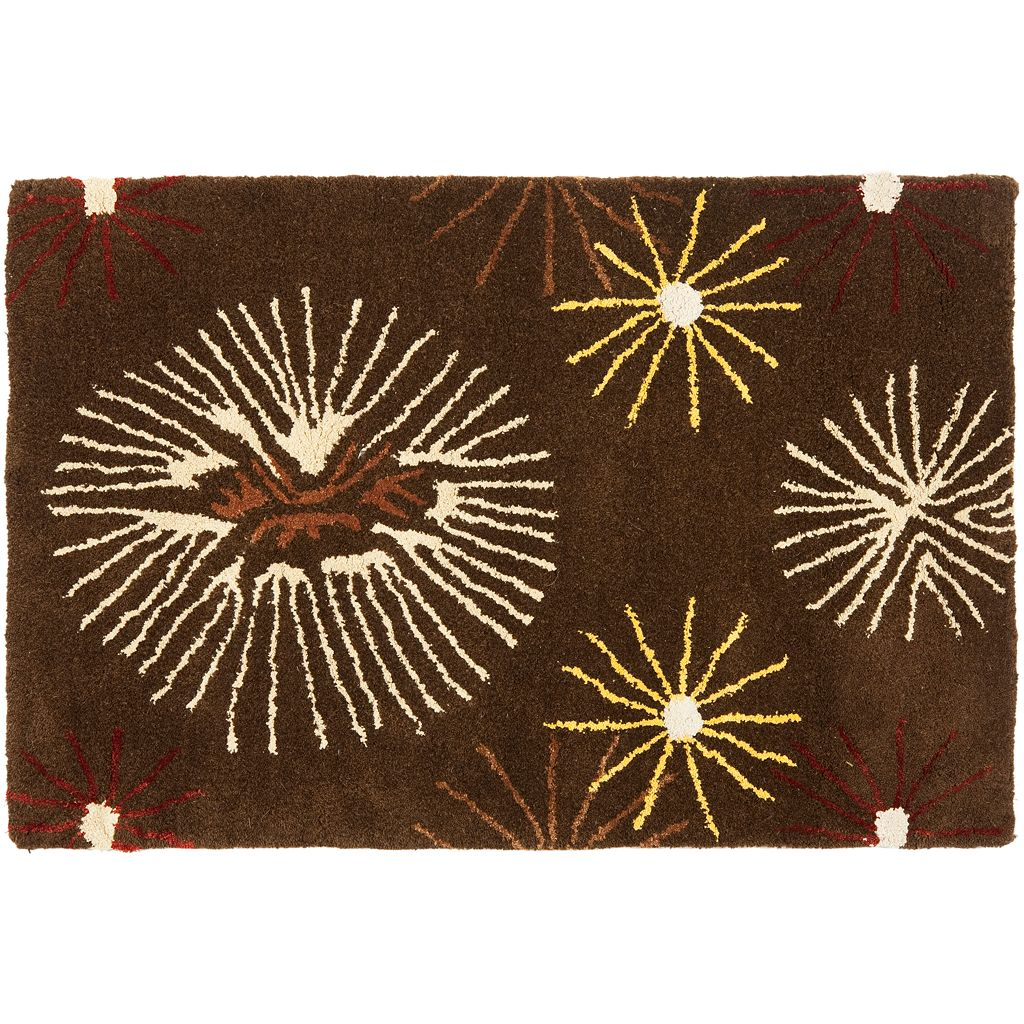 Safavieh Soho Abstract Burst Wool Rug